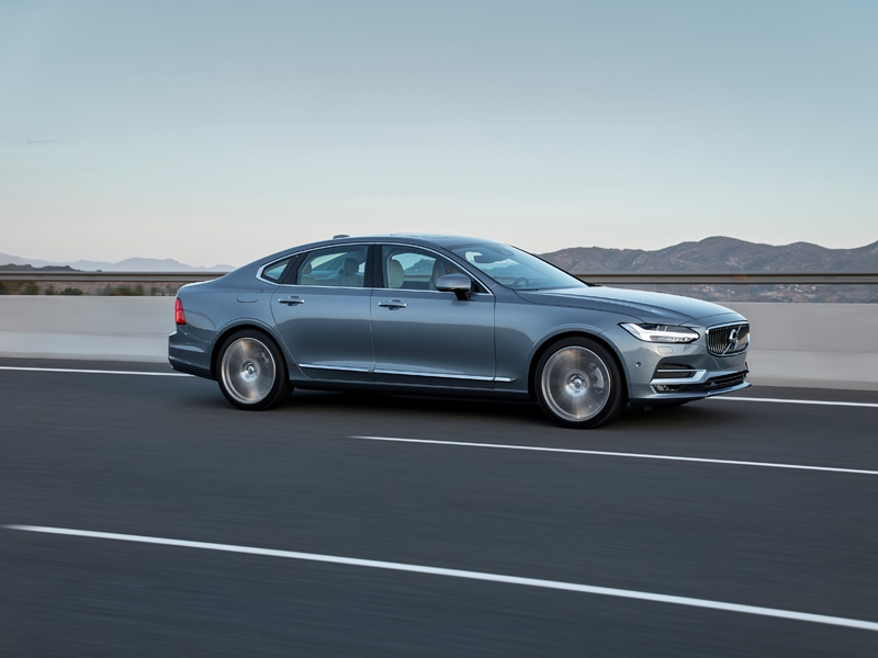 The Volvo S90 - Volvo Cars' entry ticket to the premium