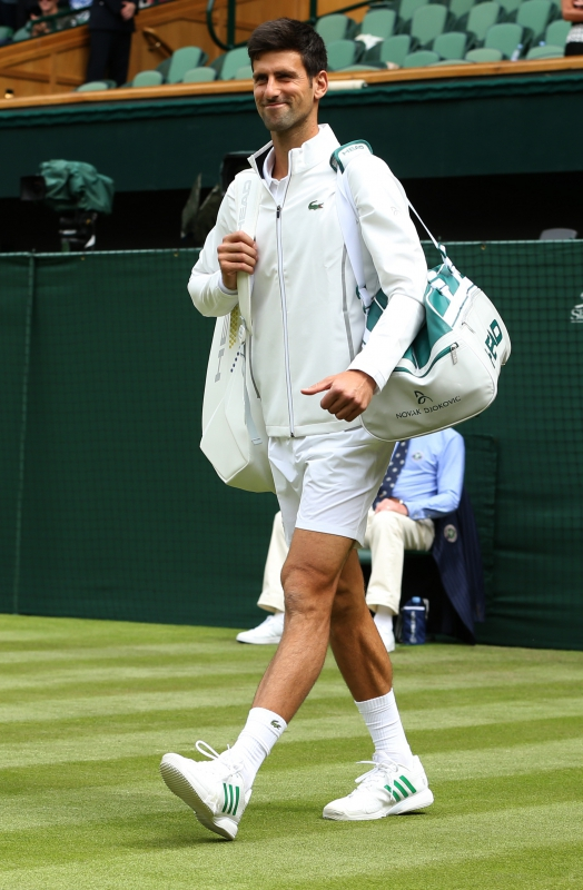 Novak Djokovic The Colour Of What I Wear Is Very Important Life Beyond Sport